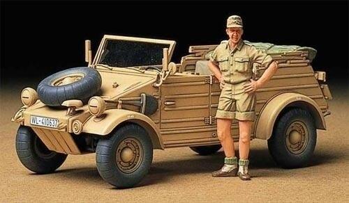 Tamiya #35238 – Tamiya 1/35 German Kubelwagen Type 82 Africa Corps