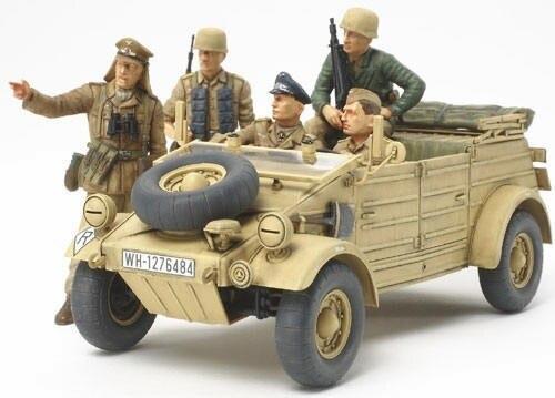 Tamiya #35304 – German Kubelwagen Type 82 – Ramcke Parachute Brigade