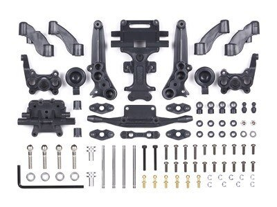 Tamiya #40551 – RC GB-02 Chassis Front Conversion Set – For GB01 GB02 TT-Gear