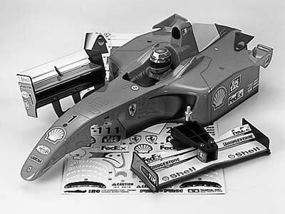 Tamiya #50928 – Tamiya Body Parts Ferrari F2001