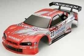 Tamiya #51203 – Tamiya Body Set Xanavi Nismo GT-R (Finished)
