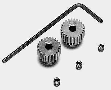 Tamiya #53103 - Tamiya 0.4 Pinion Gear Set 24T/25T