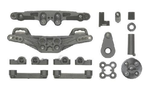 Tamiya #54445 – XV-01 Carbon Reinforced J&JJ Parts Damper Stays/Suspension Mounts OP.1445?á