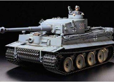 Tamiya #56010 - Tamiya 1/16 German Tiger I Early Version (R/C)