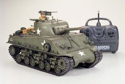 Tamiya #56013 – Tamiya 1/16 RC M4 Sherman Full Set