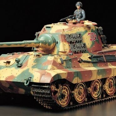 Tamiya #56018 - Tamiya 1/16 RC German King Tiger (Henschel Turret)- Full Option Kit