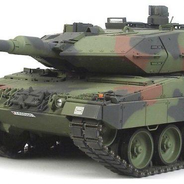 Tamiya #56020 - Tamiya 1/16 RC Leopard 2A6 Main Battle Tank Full Option Kit