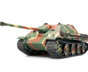 Tamiya #56024 - Tamiya 1/16 1:16 RC Jagdpanther Late Model RC German Jagdpanther Full Option Kit RC Tank - Japanese 56023