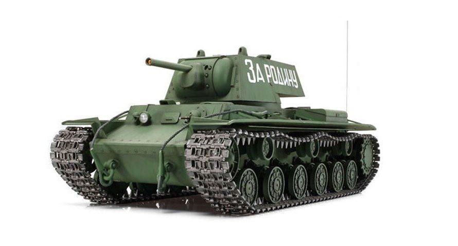 Tamiya #56028 – 1/16 RC Russian Heavy Tank KV-1 Full Option Kit