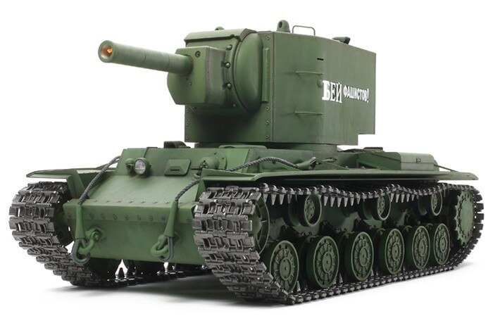 Tamiya #56030 – RC Russian Heavy Tank KV-2 – Full Option Kit Gigant