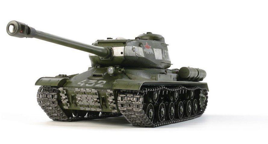 Tamiya #56035 – 1/16 RC Tank Russian Soviet Heavy Tank JS-2 1944 ChKZ