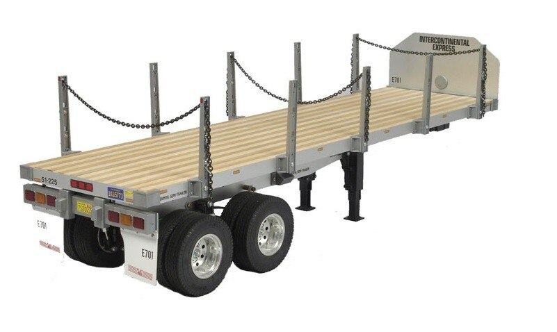 Tamiya #56306 – 1/14 R/C Tractor Trucks No.6 Flatbed Semi-Trailer