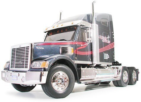 Tamiya #56313 – Tamiya 1/14 R/C Tractor Truck Knight Hauler – Japanese Version