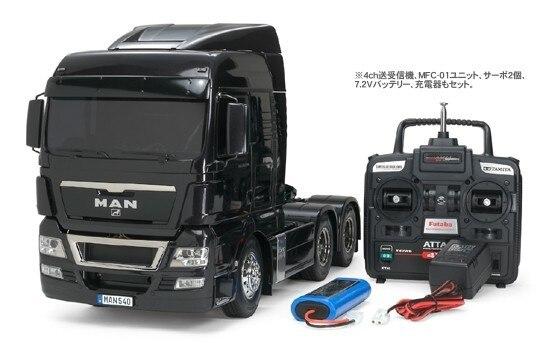 Tamiya #56324 – Tamiya RC MAN TGX 26.540 6×4 XLX Full Operation Kit Set (Japanese Version)