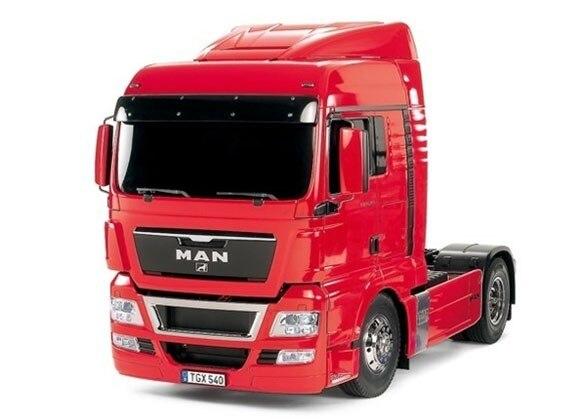 Tamiya #56329 – 1/14 RC Tractor Truck MAN TGX 18.540 4×2 XLX