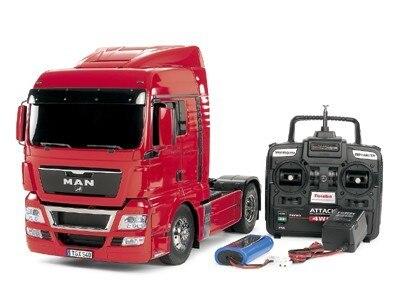 Tamiya #56329Combo – 1/14 RC Tractor Truck MAN TGX 18.540 4×2 XLX FULL OPERATION KIT Super Combo
