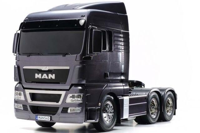 Tamiya #56346) 1/14 R/C Tractor Truck – TGX 26.540 6×4 (Gun Metal)