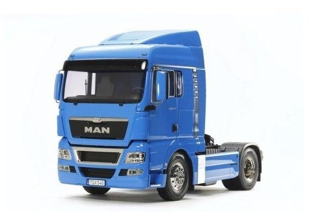 Tamiya #56350) 1/14 R/C Tractor Truck – TGX 18.540 (French Blue)
