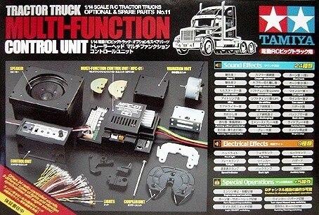 Tamiya #56511 – 1/14 R/C Tractor Truck Multi-Function Control Unit MCF-01 (MFU)
