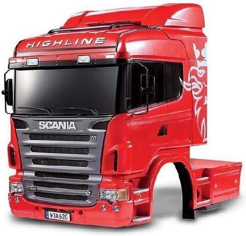 Tamiya #56514 – 1/14 R/C Tractor Truck Scania R620 6×4 Highline Body Set