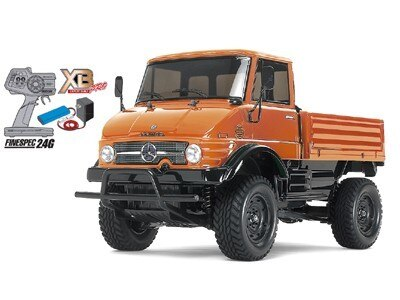 Tamiya #57843 – 1/10 RC XB RTR Unimog 406 Series U900 (CC-01) Orange Ready To Run Set