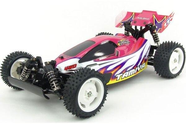 Tamiya #58334 – Tamiya 1/10 Off Road RC Racer Rising Storm (DF-02 Chassis)