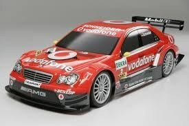 Tamiya #58379 – Tamiya 1/10 RC AMG Mercedes DTM 2006 – TT01 Vodafone Finished Body – TT-01 Chassis