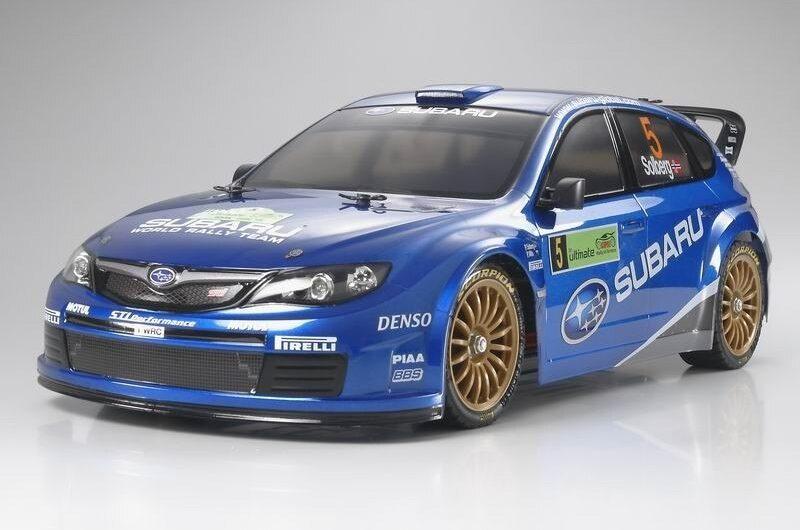 Tamiya #58430 – 1/10 RC Subaru Impreza WRC 2008 (DF-03Ra)