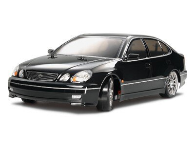 Tamiya #58432 – Tamiya 1/10 RC Lexus GS400/Aristo w/LED – TT01ED – TT-01 Type E Drift Chassis