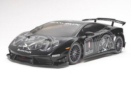 Tamiya #58456 – Tamiya 1/10 RC Lamborghini Gallardo – TA05V.2 LP560-4 Super Trofeo – TA-05 Version II Chassis