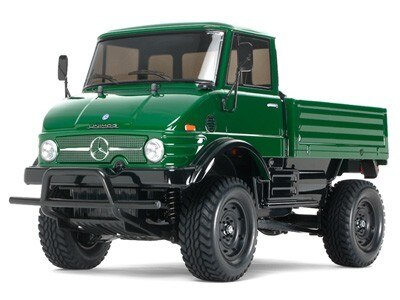Tamiya #58457 – Tamiya RC Mercedes-Benz Unimog 406 Series U900 – CC-01 CHASSIS
