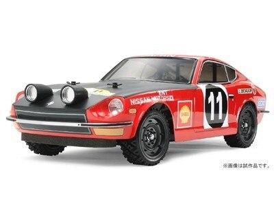 Tamiya #58459 – Tamiya 1/10 RC Datsun 240Z Rally Version- DF03Ra DF-03 Ra Chassis