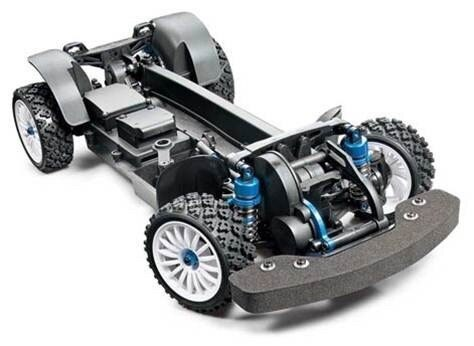Tamiya #58526 – 1/10 RC XV-01 Pro Chassis kit