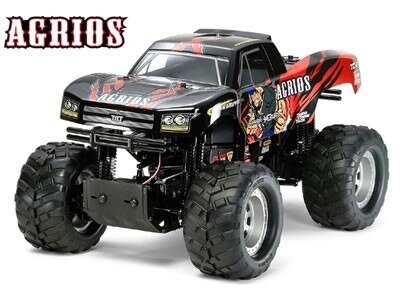 Tamiya #58549 – 1/10 RC Agrios 4×4 Monster Truck (TXT-2)