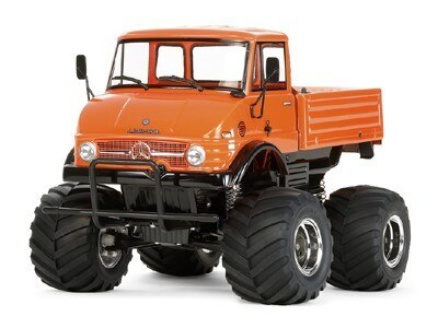 Tamiya #58557 – 1/10 RC Unimog 406 Wheelie – CW01 Series U900