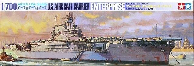 Tamiya #77514 – Tamiya 1/700 U.S. Aircraft Carrier Enterprise