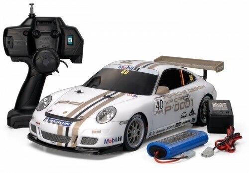 Tamiya #84059 – 1/10 RC XB Porsche 911 GT3 Cup Car – TT01E 2008 White