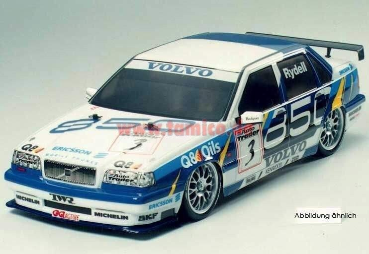 Tamiya #84137 – 1/10 RC Body Set Volvo 850