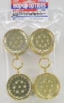 Tamiya #84282 – Hotshot/Super Hotshot /Boomerang Gold Plated Wheels F/R?á