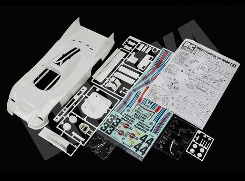 Tamiya #84303 – 1/12 Porsche 936 Martini Body Parts Set?á