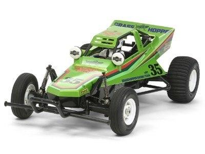 Tamiya #84331 – 1/10 RC Grasshopper (2005) Candy Green Edition