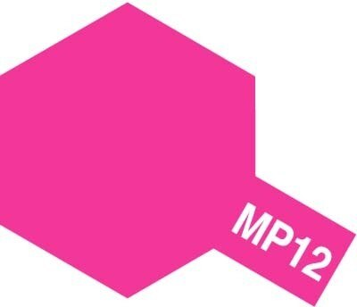 Tamiya #89212 – Tamiya MP-12 Flu.Pink Paint Marker