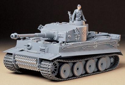 Tamiya #89646 – Tamiya Tiger I Early w/MT & Al.Barrel