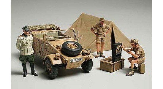 Tamiya #89649 – Tamiya 1/35 Kubelwagen Type82 w/Rommel(Ltd Edition)