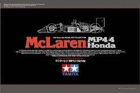 Tamiya #89719 – Tamiya Mclaren Honda MP4/4 ( Black Box )