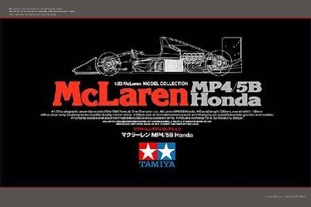 Tamiya #89720 – Tamiya McLaren MP4/5B HONDA