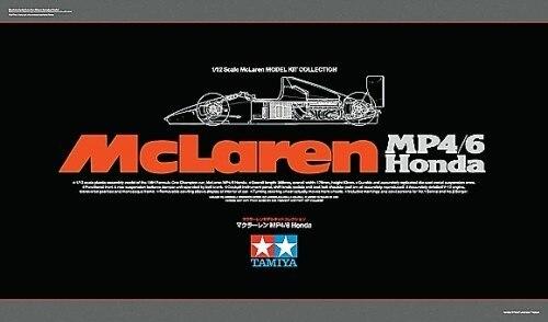 Tamiya #89721 – 1/12 McLaren MP4/6 Honda