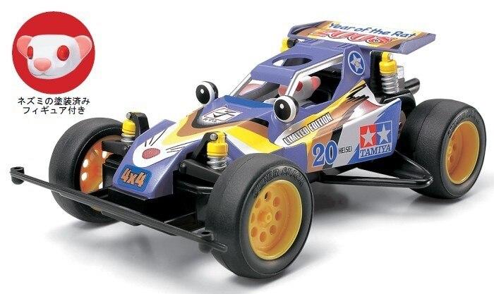 Tamiya #94612 – Tamiya Mini 4WD New Years Limited Edition -Year of the Rat 2008 – w/Rat-Headed Driver