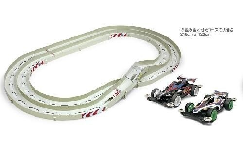 Tamiya #94852 – Mini 4WD Oval Circuit(Two-level Lane Change) Plus AvanteX & NeoFalcon