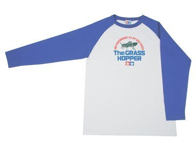 Tamiya #9966829 – Tamiya Tamiya Long Sleeve T-Shirt (The Grasshopper) M